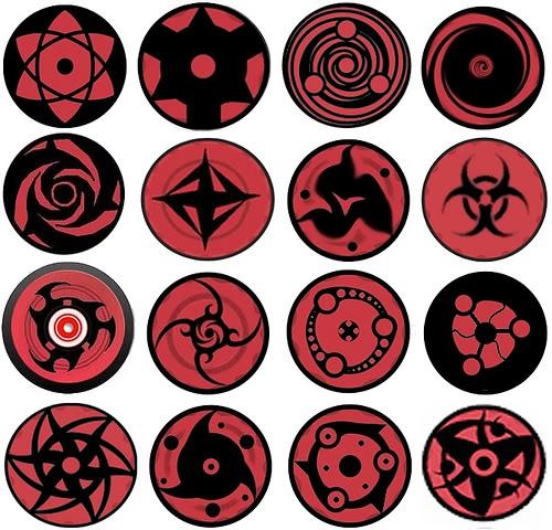 Naruto All Sharingan Eyes